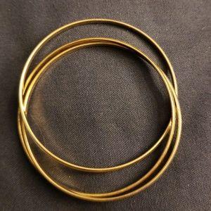 Jewelry - Yellow Gold Bangle Trio